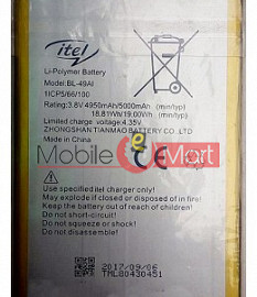 Mobile Battery For Itel BL-49AI
